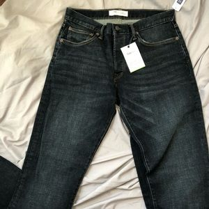 Gap 1969 Straight Button Fly Cuffed Jeans 31 x 34